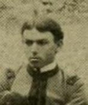 Grenville Lewis - Lewis as a cadet at the M.A.C. in 1897
