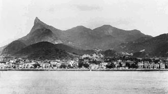 Guanabara Bay - View of Rio de Janeiro from Guanabara Bay (early 20th-century picture).