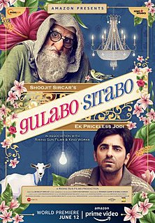<i>Gulabo Sitabo</i> 2020 Indian family comedy film by Shoojit Sircar