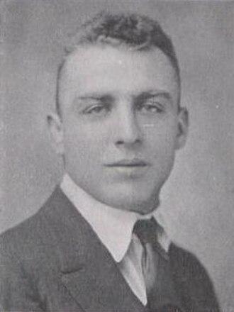 Harold Hess - Hess at Penn State in 1921
