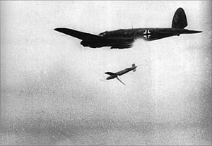 Infrared homing - An IR seeker known as Hamburg would have equipped the BV 143 in the anti-shipping role.