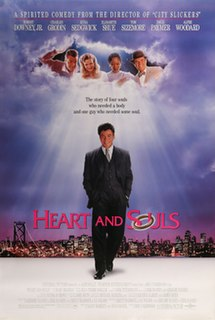 <i>Heart and Souls</i> 1993 film by Ron Underwood