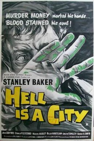 Hell Is a City - Image: Hell Is a City Film Poster