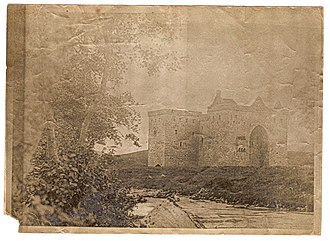Hermitage Castle - Image: Hermitage Castle old photograph