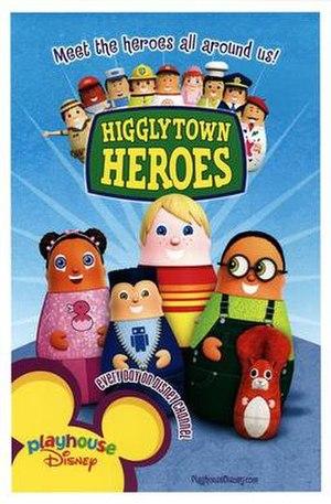 Higglytown Heroes - Promotional Higglytown Heroes poster