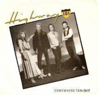 Somewhere Tonight - Image: Highway 101 Somewhere Tonight single