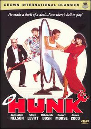 Hunk (film) - Hunk DVD cover