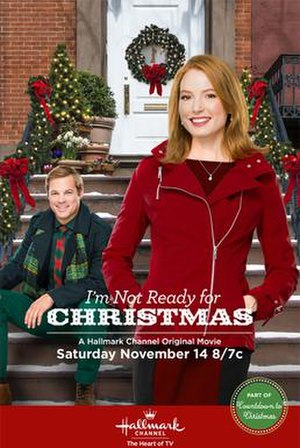 I'm Not Ready for Christmas - Promotional poster
