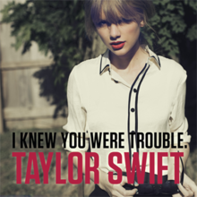 i knew you were trouble wikipedia