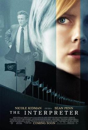 The Interpreter - Theatrical release poster