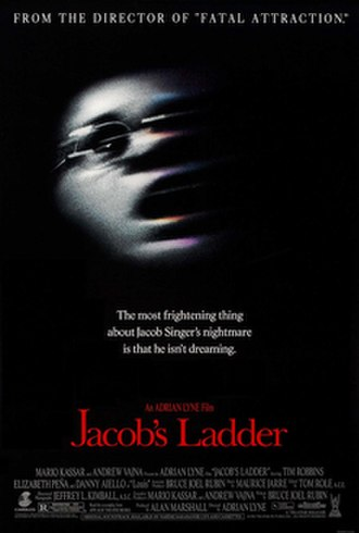 Jacob's Ladder (1990 film) - Theatrical release poster