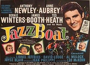 Jazz Boat - British quad poster
