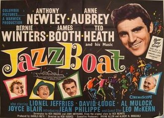 Jazz Boat - British quad poster