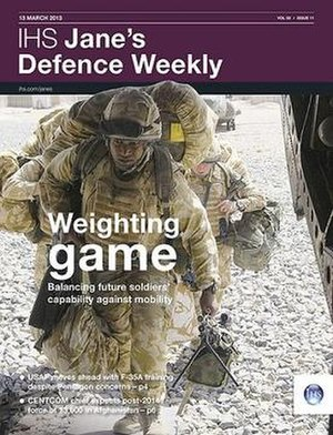 Jane's Defence Weekly - Cover for 18 March 2013 edition.