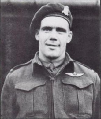 Jeff Nicklin - Nicklin while serving with the 1st Canadian Parachute Battalion.