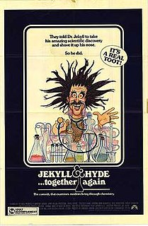 <i>Jekyll and Hyde... Together Again</i> 1982 American comedy film directed by Jerry Belson