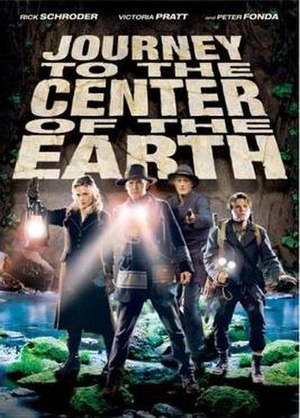 Journey to the Center of the Earth (2008 TV film) - DVD cover