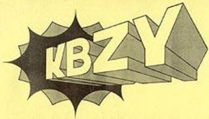 KBZY - Late-1960s station logo