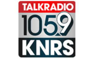 KNRS (AM) - Image: KNRS FM AM logo 1059 570