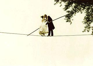 American tightrope walker