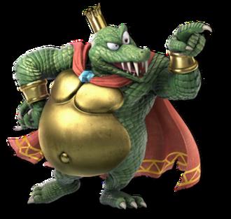 King K. Rool - King K. Rool as he appears in Super Smash Bros. Ultimate