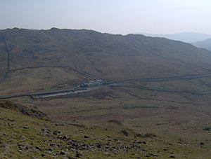A592 road - The A592 going over Kirkstone Pass