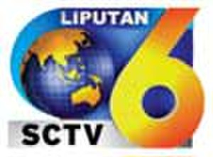 Liputan 6 - Previous logo of Liputan 6 SCTV, phased out August 2008
