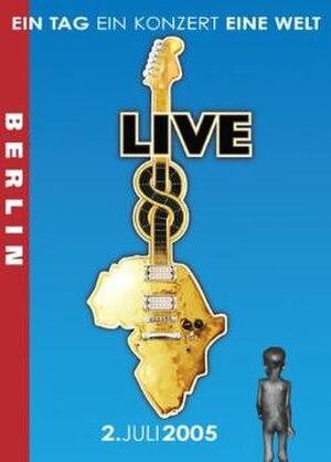 Live 8 concert, Berlin - Live 8 Berlin - DVD