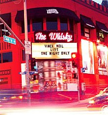 Live at the Whisky One Night Only cover.jpg