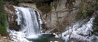 Transylvania County, North Carolina - Looking Glass Falls