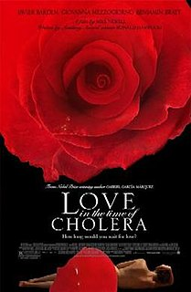 <i>Love in the Time of Cholera</i> (film) 2007 film directed by Mike Newell