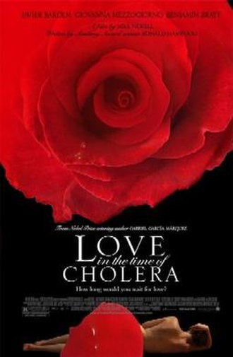 Love in the Time of Cholera (film) - Theatrical release poster