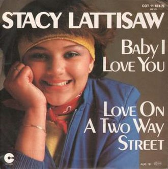 Love on a Two-Way Street - Image: Love on a Two Way Street Stacy Lattisaw