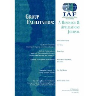 Group Facilitation: A Research and Applications Journal - Image: Low resolution cover of the journal Group Facilitation A Research and Applications Journal