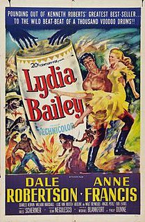 <i>Lydia Bailey</i> 1952 American film directed by Jean Negulesco