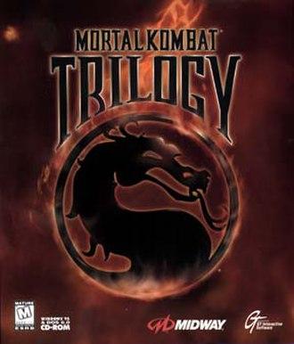 Mortal Kombat Trilogy - Cover art