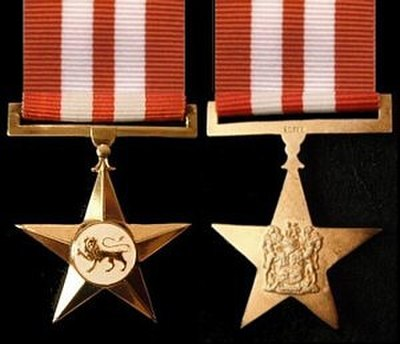 Star for Bravery in Gold