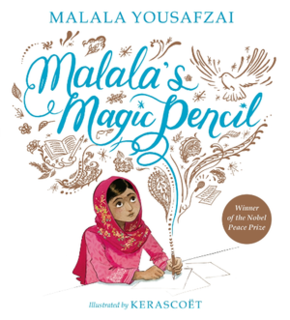 <i>Malalas Magic Pencil</i> book by Malala Yousafzai