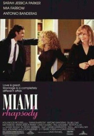 Miami Rhapsody - Theatrical release poster