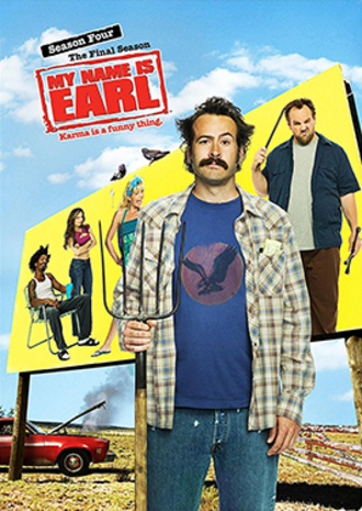 My Name Is Earl (season 4) - DVD cover