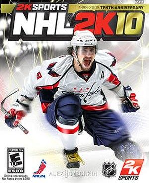 NHL 2K10 - Image: NHL 2K10 Cover