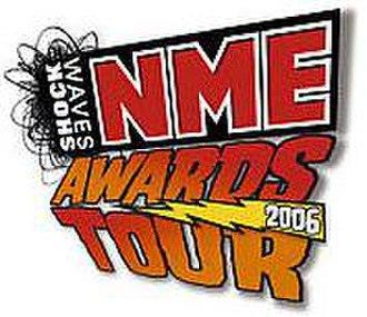 NME Tours - Logo of the 2006 NME Awards Tour.