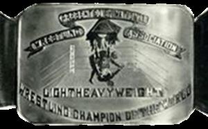 World Light Heavyweight Championship (National Wrestling Association) - Image: National Wrestling Association World Light Heavyweight Championship