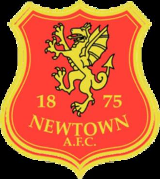 Newtown A.F.C. - Image: Newtown FC