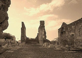 Cidade Velha - Ruins of the old cathedral