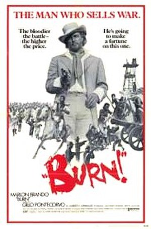 Burn! - English language theatrical poster