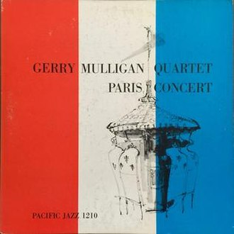 Paris Concert (Gerry Mulligan album) - Image: Paris Concert (Gerry Mulligan album)