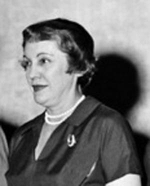 Pauline Frederick (journalist) - Pauline Frederick in 1955