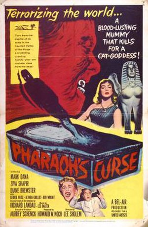 Pharaoh's Curse (film) - Theatrical release poster