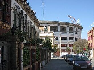 Nervión, Seville - View of Estadio Ramón Sánchez Pizjuán